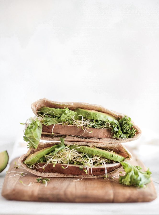 Avocado Sandwiches are Available in Phuket