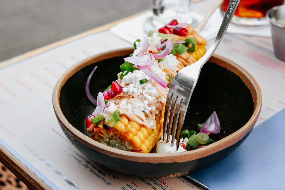 Mexican-Inspired Sweetcorn